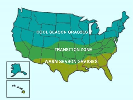 transition zone map
